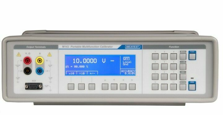 Meatest M143 Multifunction Calibrator with Current Coil for Fluke ClampMeters