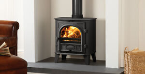 Stovax Stockton 5 Woodburning Stove Defra approved with conversion kit