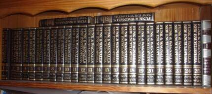 Vintage Funk & Wagnalls Hardcover New Encyclopedia (27 Volumes)