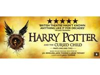 Harry Potter and The Cursed Child Pair Tkts - 6/7 September SOLD OUT
