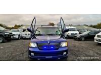 FRESH IMPORT LINCOLN NAVIGATOR 5.4 V8 AUTOMATIC 7 SEATER BLUE