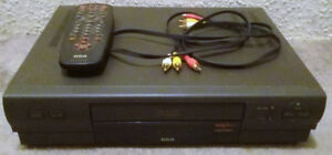 RCA VCR with VCR Plus