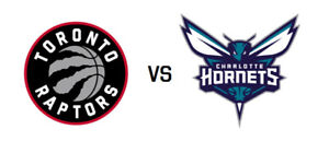 Toronto Raptors Tickets vs Charlotte Hornets - Sun, Mar 24