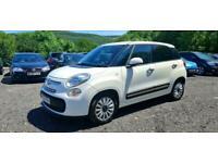 2013 FIAT 500L 1.4 POP STAR (95bhp) 5DR SUV WHITE MPV LOW MILEAGE 64K MILES /FSH