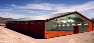 STEEL BUILDINGS - 30x50, 40x60, 50x100