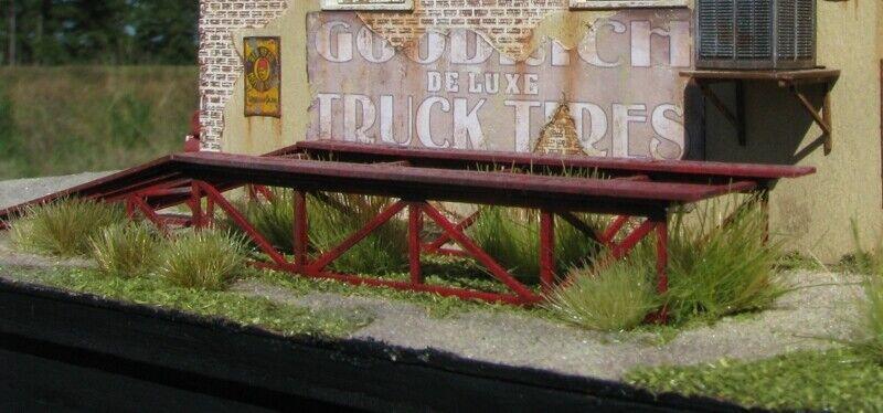 HO Scale Showcase Miniatures Automobile Service Ramp KIT Item #2334