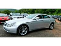 2010/60 MERCEDES CLS 350 GRAND EDITION COUPE 4DR SILVER 3.0 CDI AUTOMATIC DIESEL