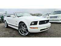 FRESH IMPORT 2010 FORD MUSTANG CONVERTIBLE 2 DOOR 4 SEATER AUTOMATIC WHITE