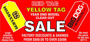 YEAR END MOWER CLEARANCE
