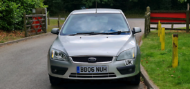 FORD FOCUS AUTOMATIC 2006 5DOOR 83000 MILES MOT TILL24/9/2022 2 OWNERS