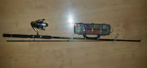 Complete Spinning Rod and Reel Combo
