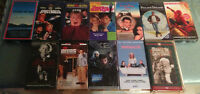 VHS Tapes For $2.00 Each