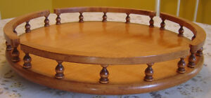 "16"" Wooden Lazy Susan"