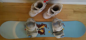 Rossignol / Burton Snow Board with Boots & Bindings London Ontario image 5