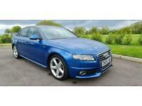 2009/59 AUDI A4 2.0TDI (143PS) MULTITRONIC S LINE AUTO 4DR DIESEL AUTOMATIC BLUE