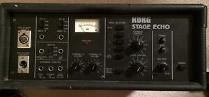 Vintage Korg Stage Echo SE 500 tape echo