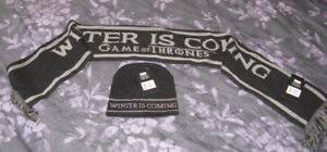 Winter is Coming Scarf and Touque
