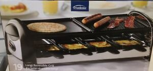 Brand New Longi reversible raclette grill for only 99.95