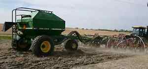 Morris 36ft Air Drill and John Deere 787 Air Cart