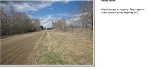 Acreage for sale 2.47ac 5 min to Morinville 10 min to St.Albert