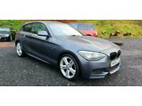 2014/64 BMW 116 1.6i (136bhp) SPORTS HATCH STEP-AUTO (8SP) M SPORT 116i GREY 3DR