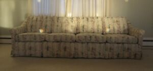 Down Filled Custom Built Long Couch (4 Cushions) Only $100
