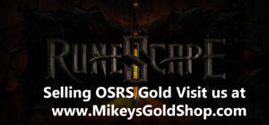Buy OSRS Runescape Gold Today!