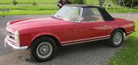 A rare classic 1965 230SL Roadster