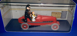 DIECAST 1/43 TINTIN 'Le bolide rouge'