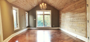 Add VALUE with FEATURE WALLS - DIY Wood Panelling Products Kitchener / Waterloo Kitchener Area image 4