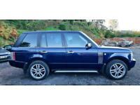 2003 RANGE ROVER VOGUE 3.0 TD6 AUTO DIESEL LAND ROVER LOW MILEAGE AUTOMATIC BLUE