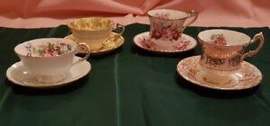 Collectable Tea Cups & Saucers (Paragon).