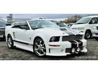 FRESH IMPORT 2010 ONE OFF FORD MUSTANG CONVERTIBLE V6 WITH FULL BODY KIT WHITE