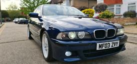 BMW E39 530I MSPORT AGEAN BLUE INDIVIDUAL ULEZ FREE!!