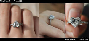 **BRAND NEW** Promise Rings LOTS TO CHOOSE FROM Kitchener / Waterloo Kitchener Area image 4