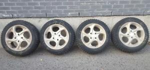 winter tires / pneus d'hiver • Honda Accord mags • 205/55R16