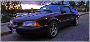 1988 Ford Mustang LX Notchback 5.0