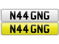 N44 GNG Number Plate For Sale