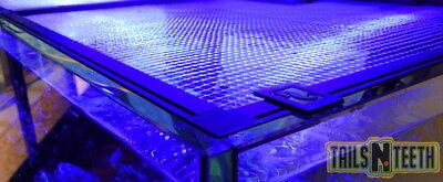 "RED SEA Customizable DIY Aquarium Net Cover - Cut Out Parts Incl. 48""x31"" R42082"