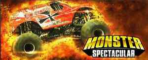 WANTED 2 MONSTER TRUCK TICKETS