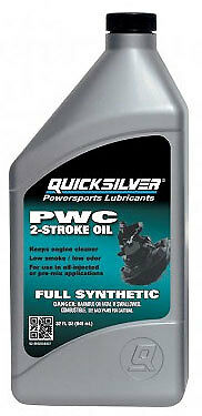 MerCruiser 2-Cycle Full Synthetic Personal Watercraft Oil - 92-8M0058907