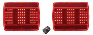 NEW! 1965-1966 Mustang LED Tail Lights PAIR Both left & right side Sequential