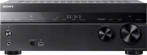 Sony 1015W 7.2-Ch. 4K Ultra HD and 3D Pass-Through A/V Home Theater Receiver Black STRDH770
