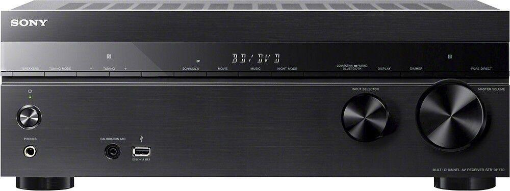 Sony STR-DH770 7.2 Channel 145 W 4K Home Theater AV Receiver