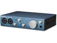 PRESONUS AUDIOBOX I2 USB AUDIO INTERFACE, FREE COPY OF CUBASE 5