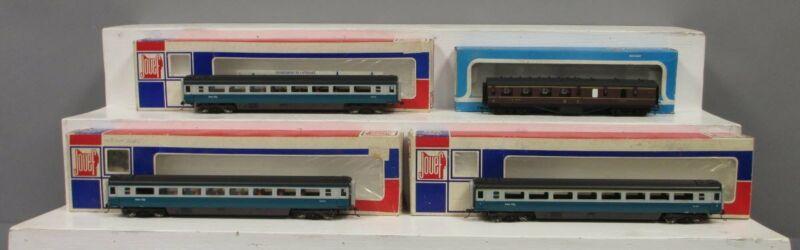 Jouef & Airfix OO Assorted Passenger Cars [4] EX/Box
