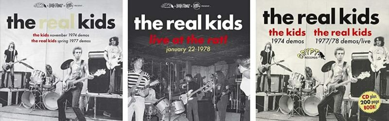 THE KIDS NOVEMBER 1974 DEMOS / THE REAL KIDS SPRING 1977 DEMOS [CD]