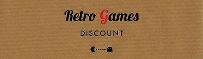Retro Games Discount