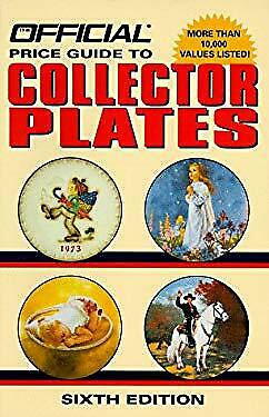 Official Price Guide to Collector Plates by Rinker Enterprises Collector Plates Price Guide