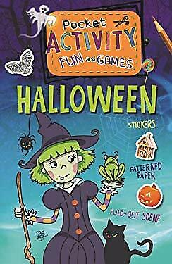 Halloween Pocket Activity Fun and Games : Games, Puzzles, Fold-Out Sce-ExLibrary](Halloween Activities And Games)